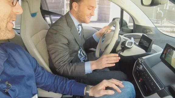 cnn$ bmw self driving car can