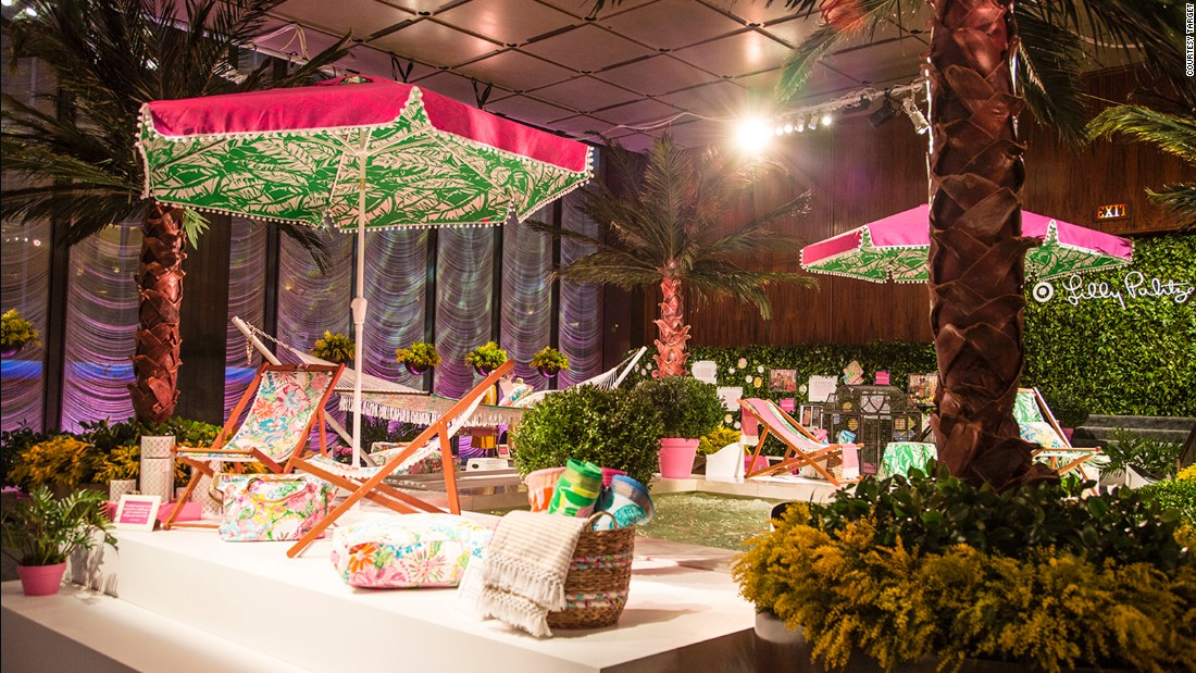 Resortwear brand Lilly Pulitzer will launch a 250-piece collection with retail giant Target on April 19.