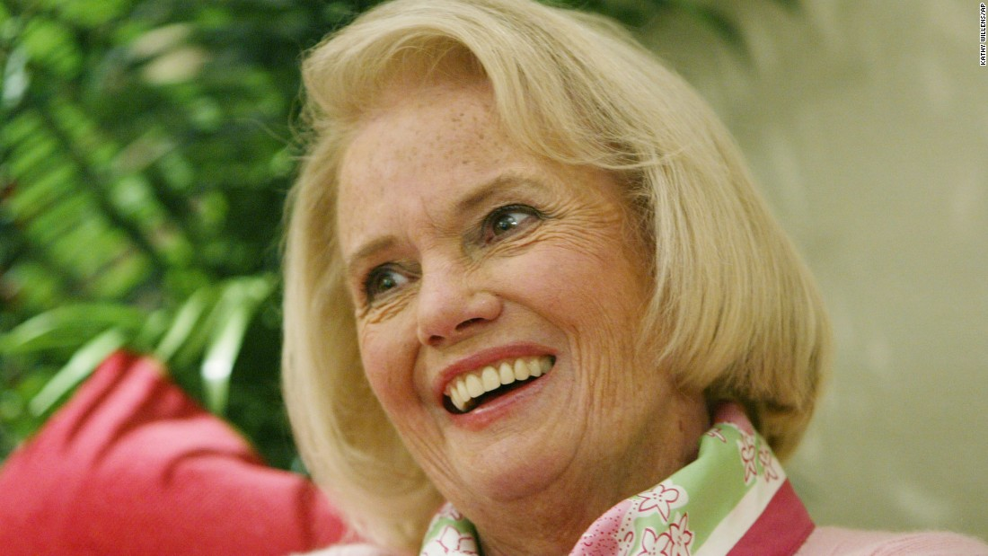 Designer Lilly Pulitzer died at age 81 in Florida on April 7, 2013.