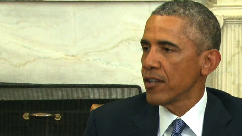 Obama: Attacks are 'cowardly' and 'evil'