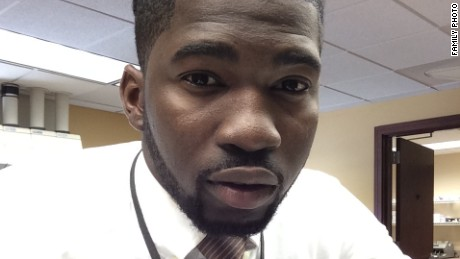 Mathew Ajibade died after his arrest January 1 stemming from a domestic disturbance call at a gas station.