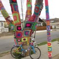 yarn bombing chile lanapuerto bike