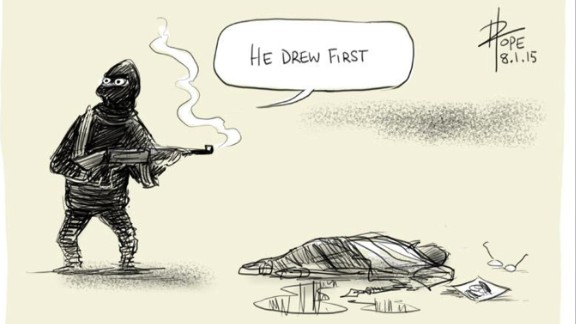 """By <a href=""""https://twitter.com/davpope/status/552844593046097920"""" target=""""_blank"""" target=""""_blank"""">David Pope</a>, cartoonist at The Canberra Times"""
