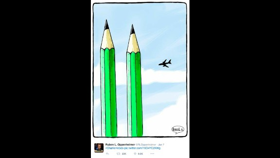 "By Dutch political cartoonist <a href=""https://twitter.com/RLOppenheimer/status/552848047089405952"" target=""_blank"" target=""_blank"">Ruben L. Oppenheimer</a>"