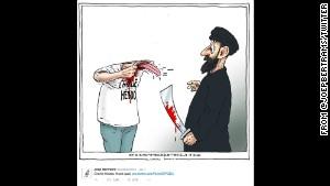 Charlie Hebdo: Cartoonists pay tribute to satirists - CNN