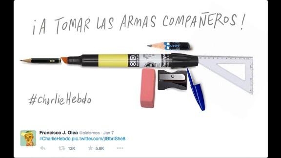 "By Chilean cartoonist <a href=""https://twitter.com/oleismos/status/552829704785633280"" target=""_blank"" target=""_blank"">Francisco J. Olea</a>"