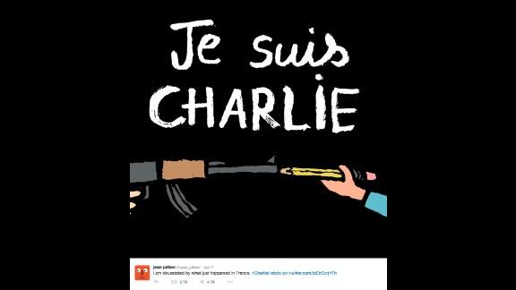 "By French graphic designer <a href=""https://twitter.com/jean_jullien/status/552829637215408128"" target=""_blank"" target=""_blank"">Jean Jullien</a>"