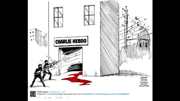 "By Brazilian political cartoonist <a href=""https://twitter.com/LatuffCartoons/status/552847548776742914"" target=""_blank"" target=""_blank"">Carlos Latuff</a>"
