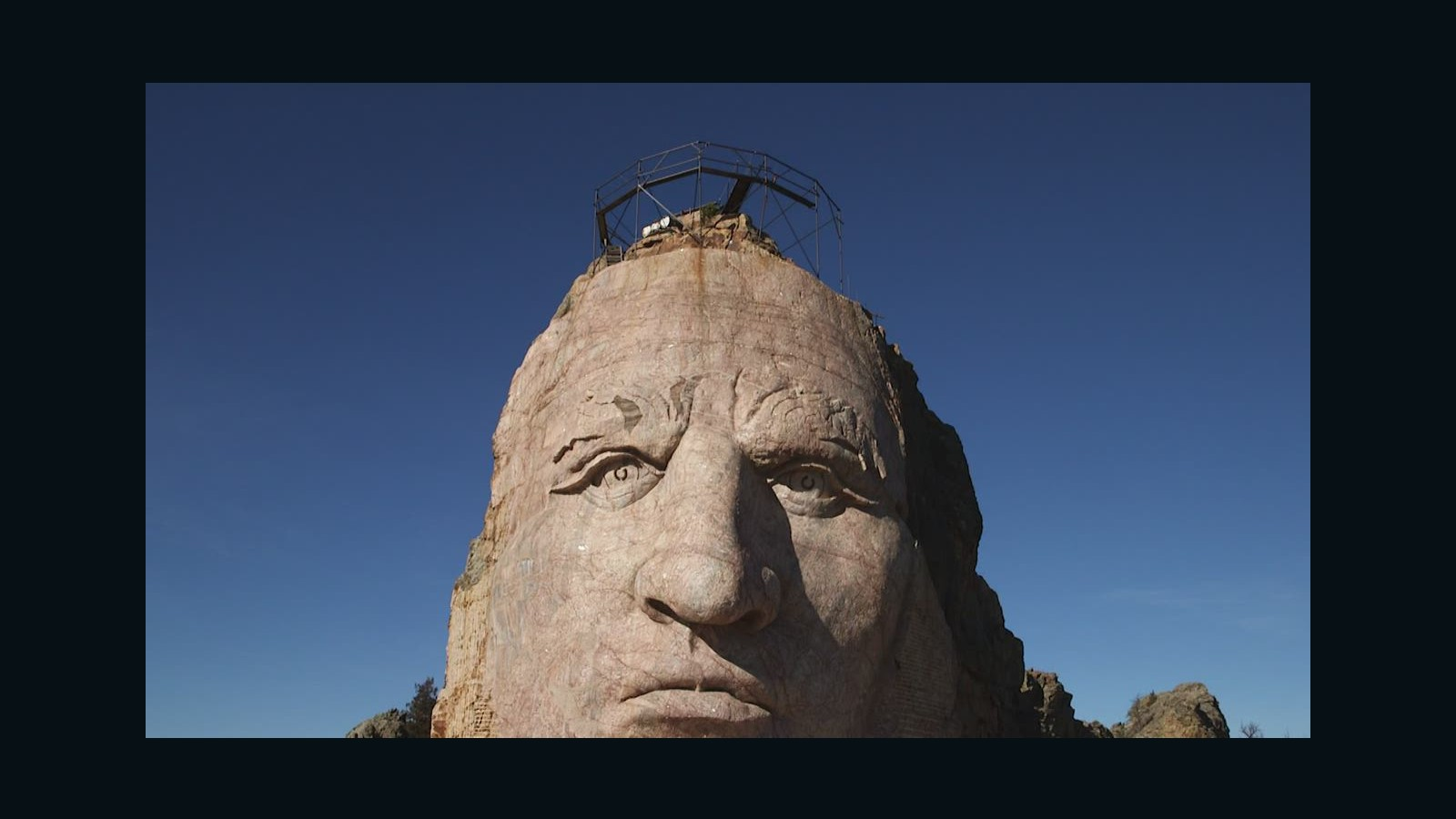 Crazy Horse Memorial bigger than Mount Rushmore - CNN Video