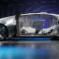 Mercedes Benz driverless car