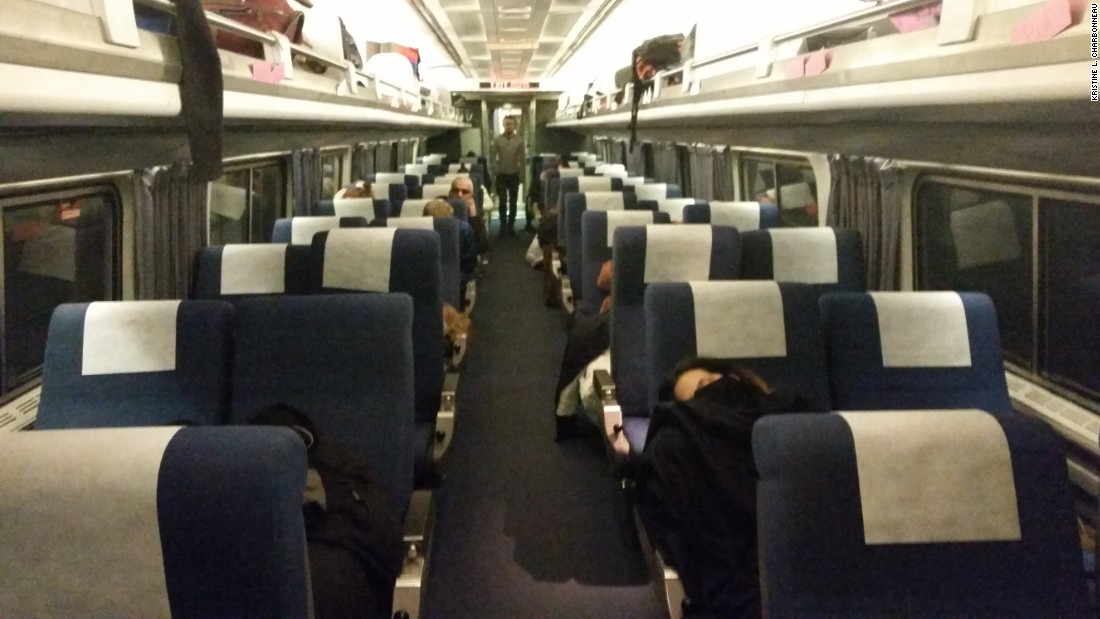 Passengers Shiver As Train Leaves 13 5 Hours Late Cnn