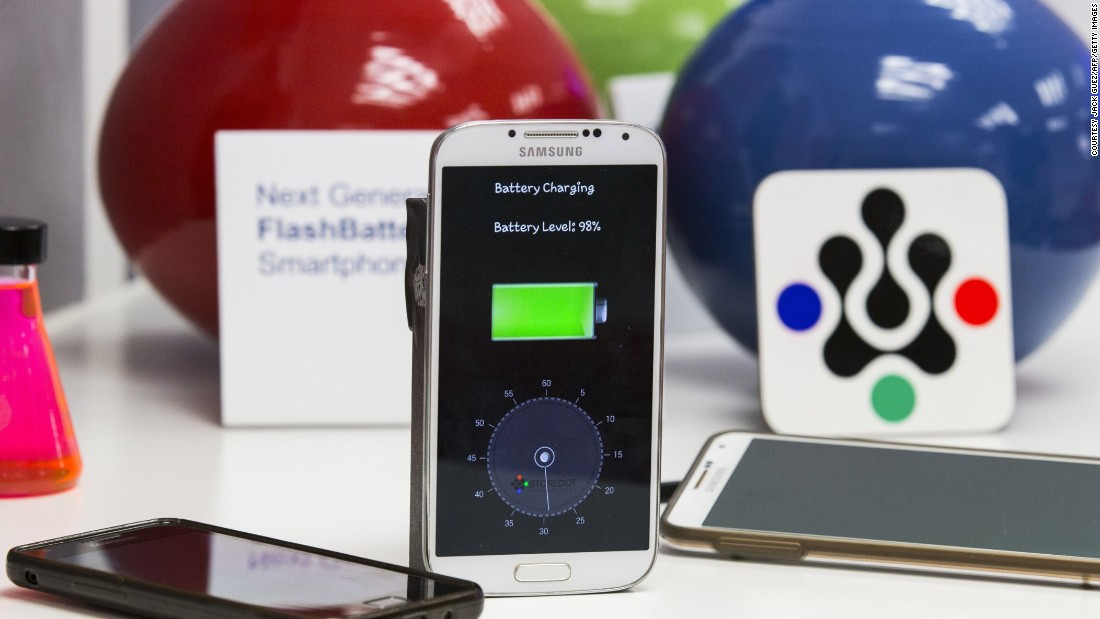 "Israeli startup <a href=""http://www.store-dot.com/"" target=""_blank"">StoreDot</a> has created a bio-organic charger system that it says can recharge a smartphone battery in just 30 seconds. A product compatible with all makes of smartphone could be on the market by 2016."