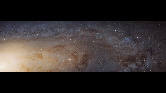 This is the largest Hubble Space Telescope image ever assembled. It