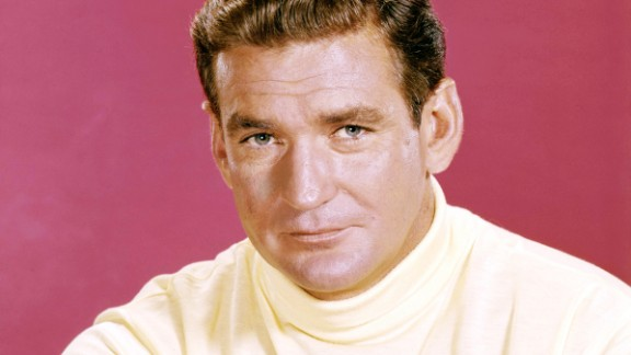 Australian-born actor Rod Taylor, who starred in Alfred Hitchcock