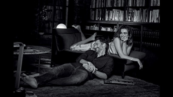 """Shot by fashion photographer Peter Lindbergh, """"Will You?"""" shows couples in various romantic settings intended to capture """"a moment in time when couples experience an intimate connection,"""" the jeweler said in a press release."""