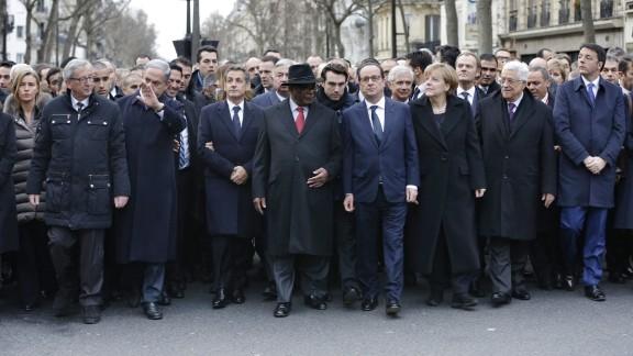 European Commission President Jean-Claude Juncker, from left, Israel