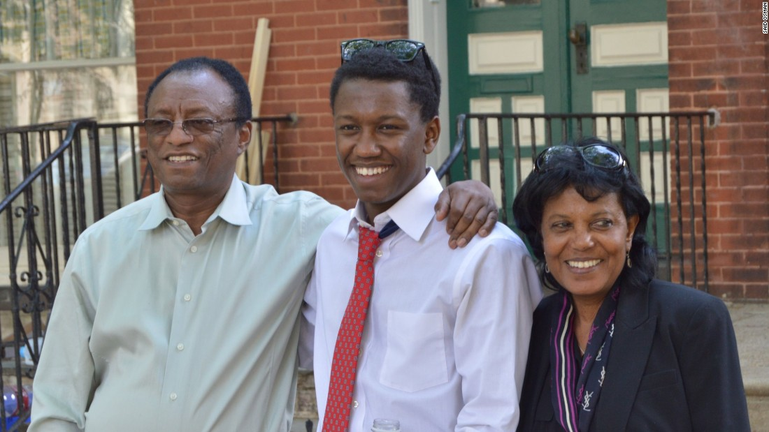 "Their youngest son currently studies medicine at New York's Mount Sinai Hospital. ""He has the capacity to do anything he wants, but chose medicine."""