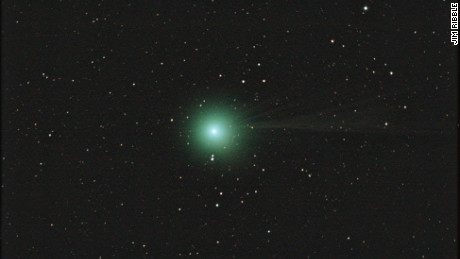 Astrophotographer Jim Ribble took this photo of Comet Lovejoy from Gainesville, Georgia, on January 10, 2015.