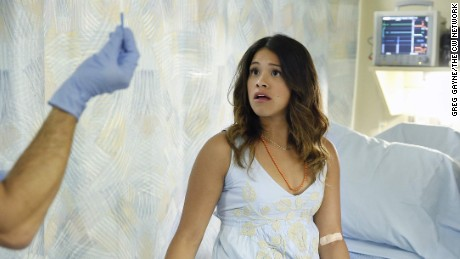 "Gina Rodriguez won a Golden Globe for her role in ""Jane the Virgin."""