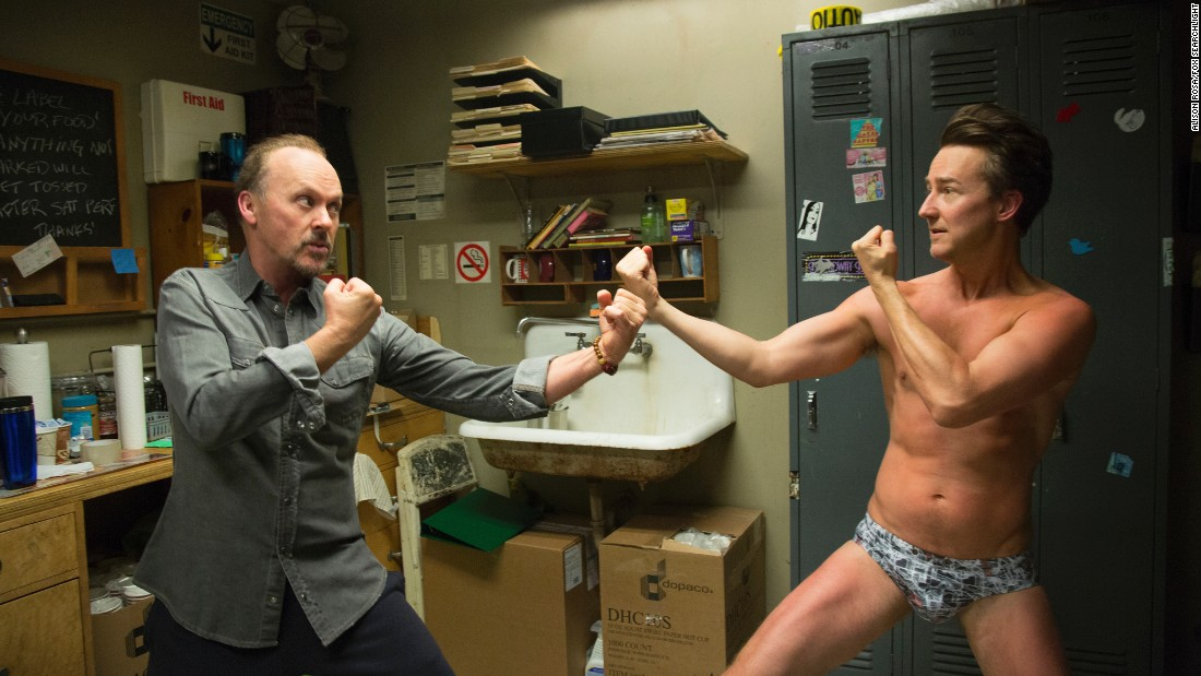 "<strong>Best screenplay:</strong> Alejandro Gonzalez Inarritu, ""Birdman"""