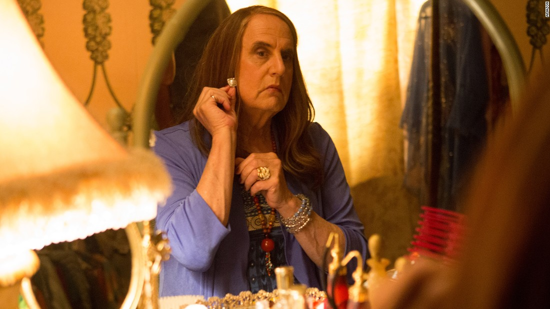 "Actor Jeffrey Tambor portrays a divorced father who begins transitioning to a woman in the Amazon series ""Transparent,"" which debuted in February 2014. For his performance, Tambor won a Golden Globe for best actor in a TV musical or comedy series."