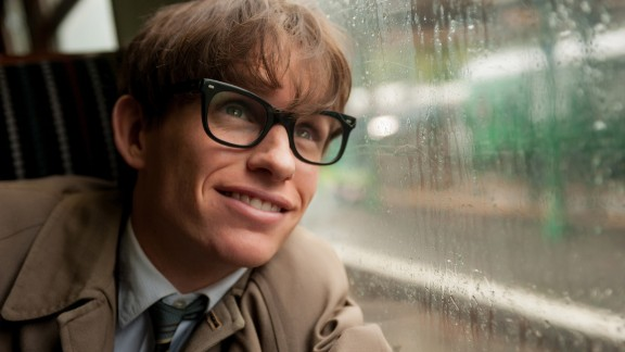 """Eddie Redmayne played astrophysicist Stephen Hawking in 2014's """"The Theory of Everything."""" He won the best actor Oscar for the role."""