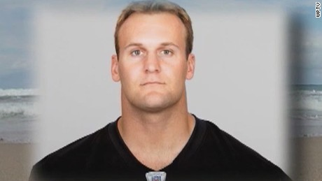 Police: Ex-NFL player swam miles to safety