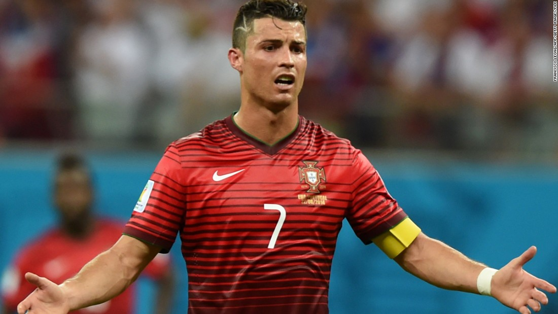 Ronaldo and Portugal has a disappointing 2014 World Cup, failing to make it out of the Group stages beaten to second place by the U.S. team.