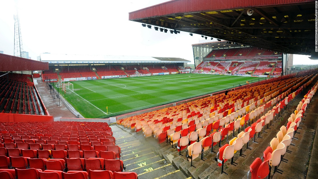 Aberdeen's Pittodrie stadium, scene of past glories. Are more to follow in the near future?