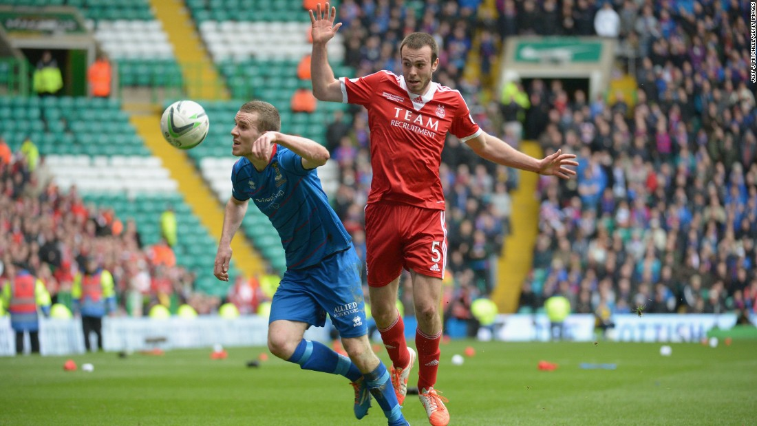 Andrew Considine, born in the village of Banchory on the outskirts of Aberdeen and the son of former Aberdeen defender Doug, has been a mainstay of this season's miserly defence.