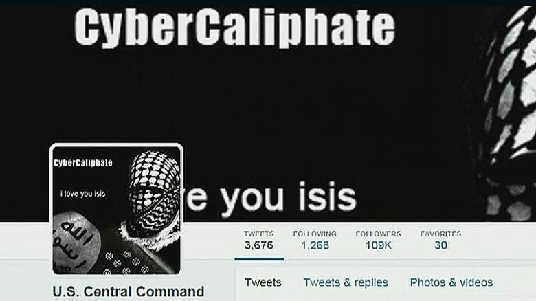 CENTCOM Twitter account hacked, suspended