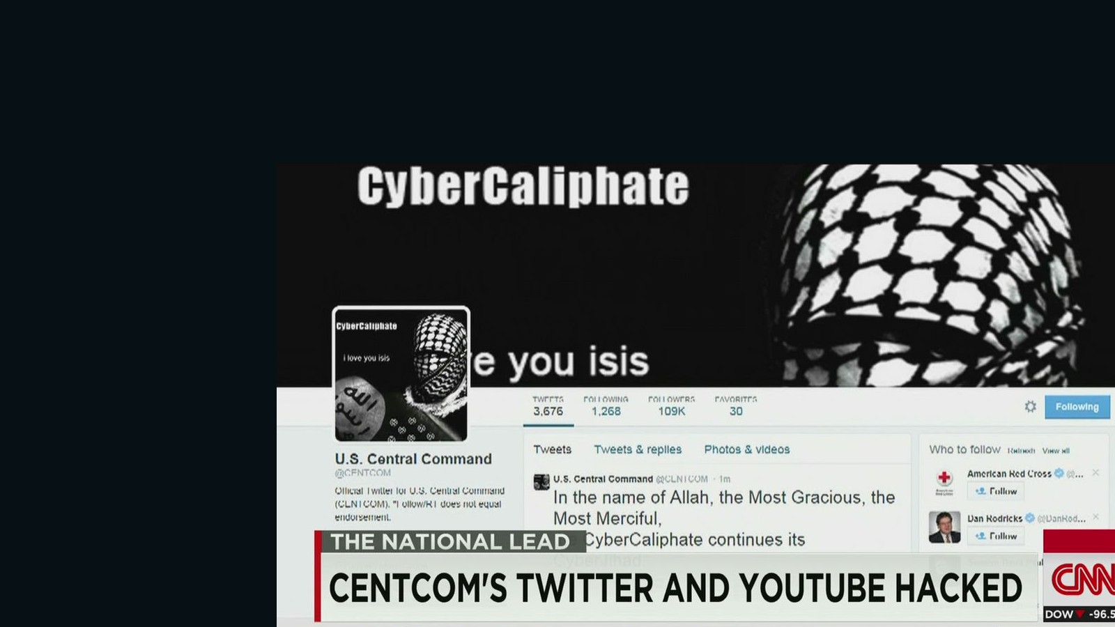 CENTCOM Twitter account hacked, suspended - CNNPolitics