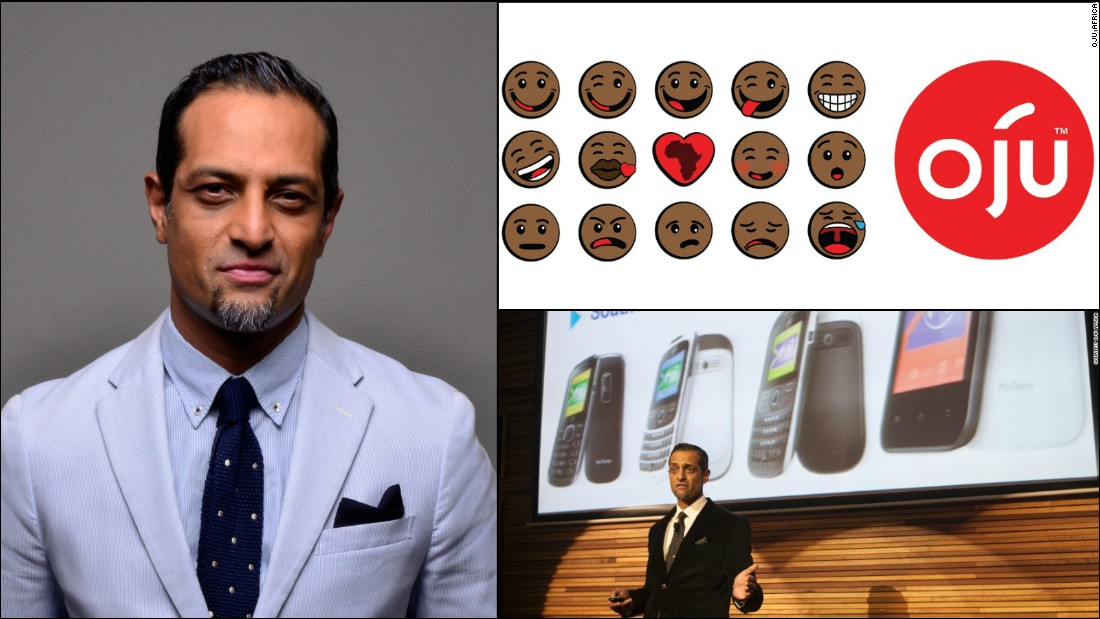 "Mauritian-based app company <a href=""http://www.ojuafrica.com/"" target=""_blank"">Oju Africa</a> released a range of Afro emoticons in 2014 to tackle a lack of diversity in mobile characters. The company is led by Alpesh Patel who beat leading companies to the mark with his idea, including Apple. <br /><br />Patel has big plans for Oju Africa in 2015 whilst continuing to question the status quo. ""[We will] make sure we execute our plans on time every time and... improve the user experience of our customers,"" he says.<br /><br /><a href=""http://edition.cnn.com/2014/04/30/tech/african-startup-trumped-apple-black-emoticons/"" target=""_blank"">Read: The African app company that trumped Apple to launch first black emoticons.</a>"