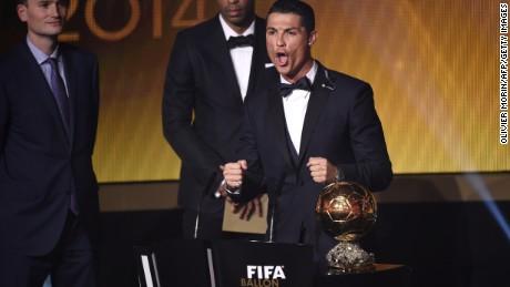 7db7bd5f4ee0 Cristiano Ronaldo wins Ballon d'Or 2014 - CNN