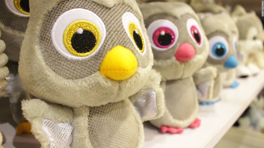 More than 1,200 plush and soft toys were on display, from palm-sized owls to plus-sized bears.