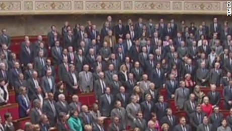 French lawmakers honor victims