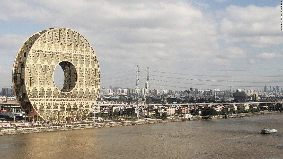 "In October 2014, Xi called for less ""weird architecture"" to be built in the country. Don't worry, Guangdong Plastics Exchange, we still love you."