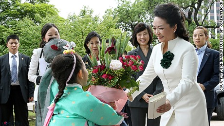 China's first lady Peng Liyuan