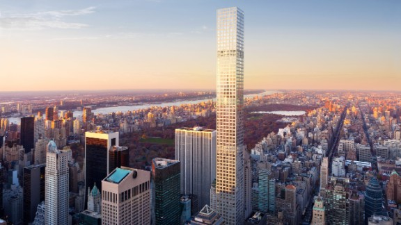 """In January, a residential building in New York <a href=""""http://edition.cnn.com/2016/01/22/architecture/supertall-skyscrapers-100-432-park-avenue-new-york/"""">became</a> the world's 100th supertall building. Supertall buildings are classified as those over 300-meters high."""