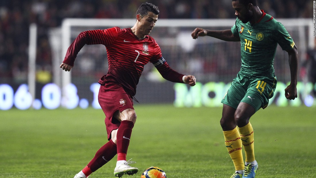 March 5: Playing for Portugal in a friendly against Cameroon, Ronaldo's strike takes his international goal tally to 49, a Portuguese record.