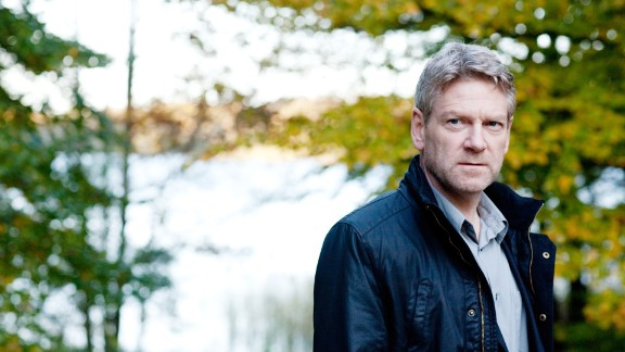 """Wallander,"" starring Kenneth Branagh."