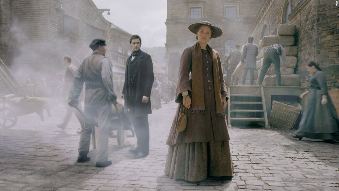 """North and South,"" starring Daniela Denby-Ashe and Richard Armitage."