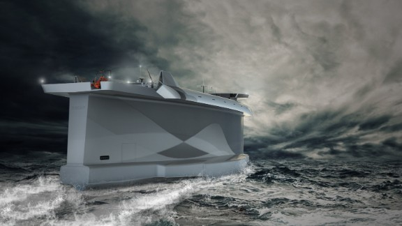 Lade AS claims the ship's airfoil shape will allow it to point up to 18 degrees into the wind, a vacuum on the side sheltered from the wind propelling the ship forward. Onboard computers will allow navigation based on optimum weather conditions, maximizing fuel efficiency. It's just one example of a new generation of renewable energy technology being used to power boats.