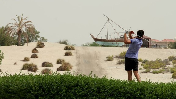 Fifty years ago, oil workers in Abu Dhabi longed to play golf. The answer? Sand golf.