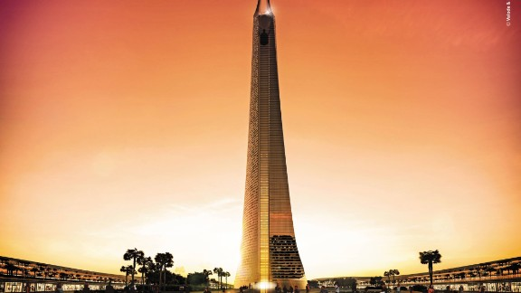 A definitive date for breaking ground on construction of the tower has still to be settled, its location finalized and full permission of the Moroccan authorities given.