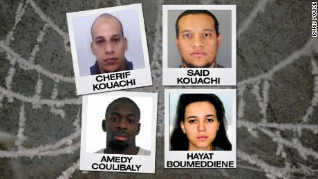 How connected were the Paris terror suspects?