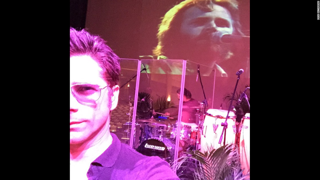 "Actor John Stamos <a href=""http://instagram.com/p/xqZaLcCh5O/?modal=true"" target=""_blank"">sent this selfie to Instagram</a> with the caption ""God Only Knows"" on Saturday, January 10. Stamos is referring to a song from the Beach Boys, who he has been performing with recently."
