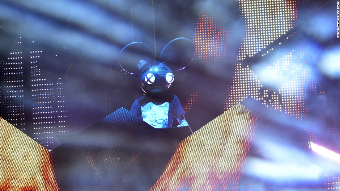 Electronic star Deadmau5 is set to perform.