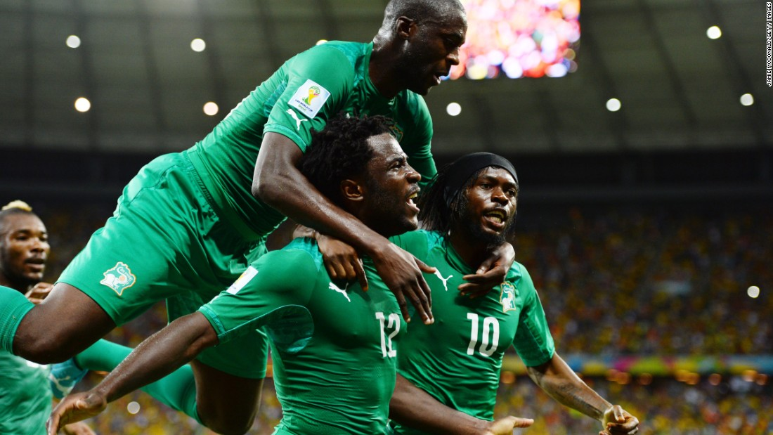 Ivory Coast is considered by many to be the favorite to win this year's tournament, boasting the likes of Yaya Toure and new Manchester City signing Wilfried Bony in its squad. The Elephants last lifted the trophy in 1992.