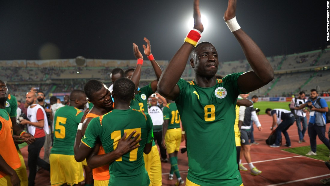 """But all Africans are proud to represent their country and are honored to play at AFCON, even if they have to play on a bumpy pitch,"" Pfannenstiel adds. ""For me that's really impressive -- when you realize how much it means to these guys to carry the flag for their country."""